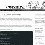 Brentozar.com - sp_BLITZ - MSSQL Server Takeover Script