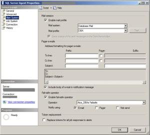 SQL Server Mail Alert Enable