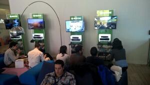Entspannung und Netzwerken bei Microsoft