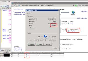 miserabler SQL Server Backup Durchsatz trotz