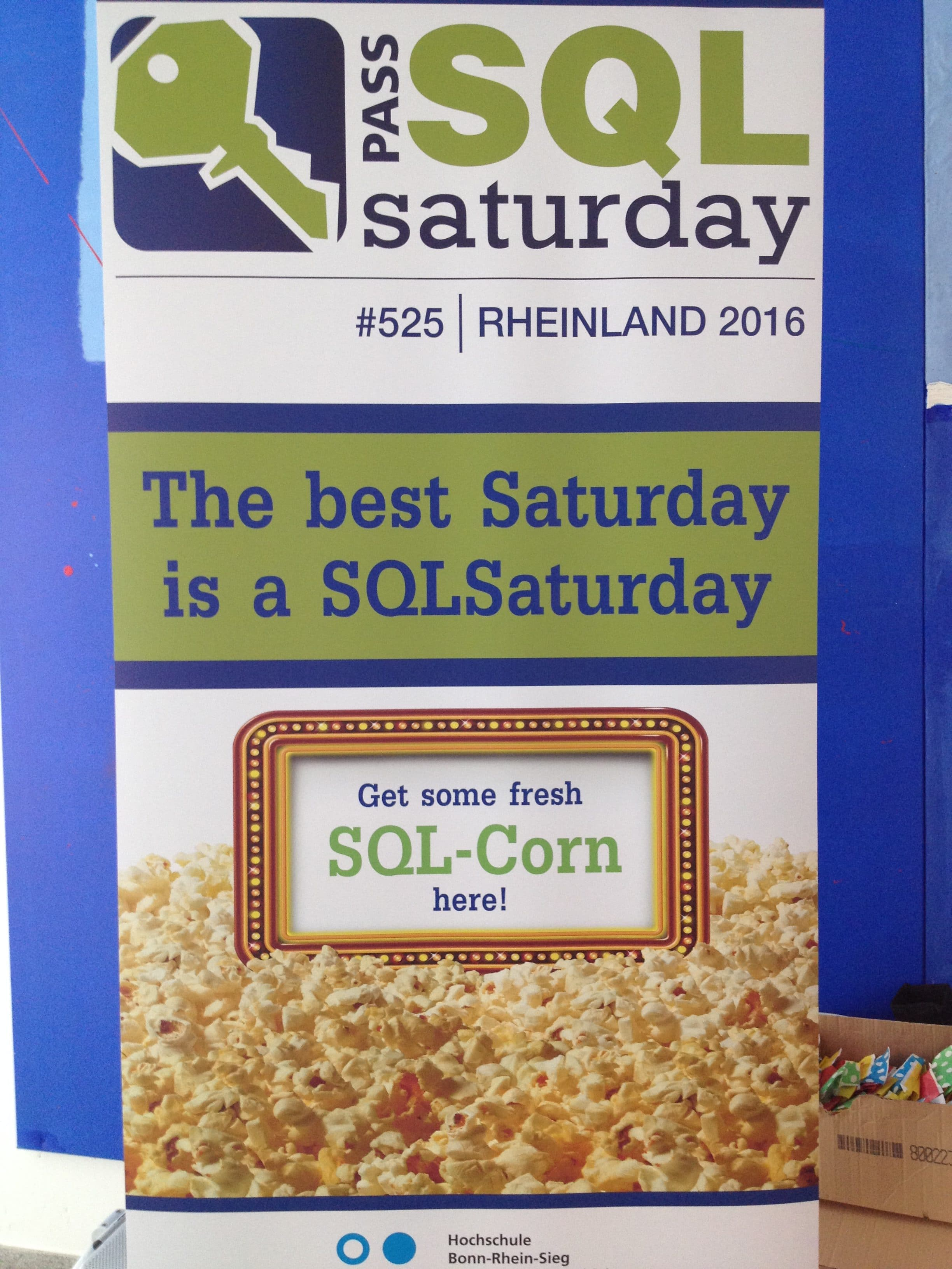 SQLSaturday #525 - Rheinland