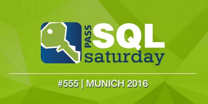 SQLPASS SQLSaturday #555 München