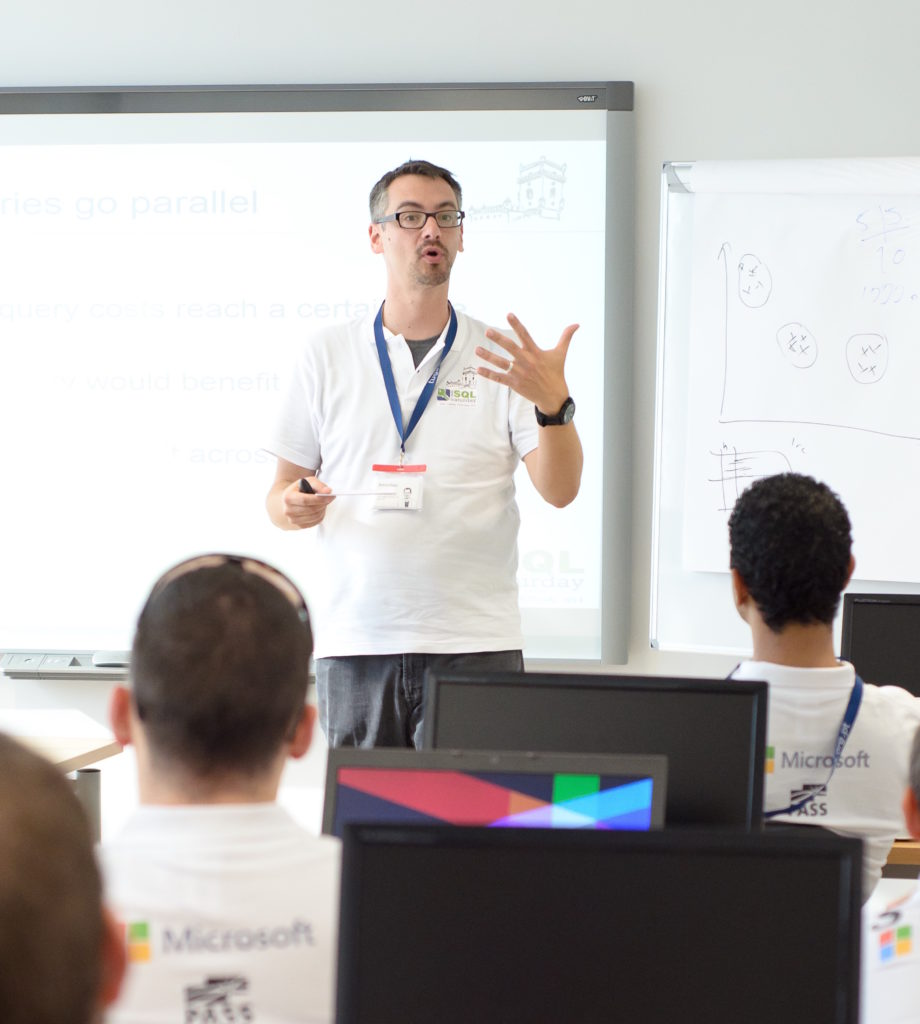 Become a Speaker like Brent Ozar at SQLSaturday in Portugal