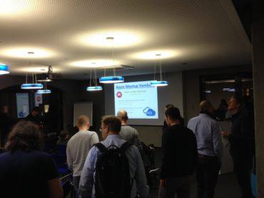 Begrüssung Azure Meetup Hamburg - November 2016