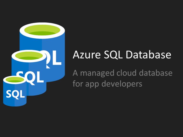 Resize Azure SQL Database