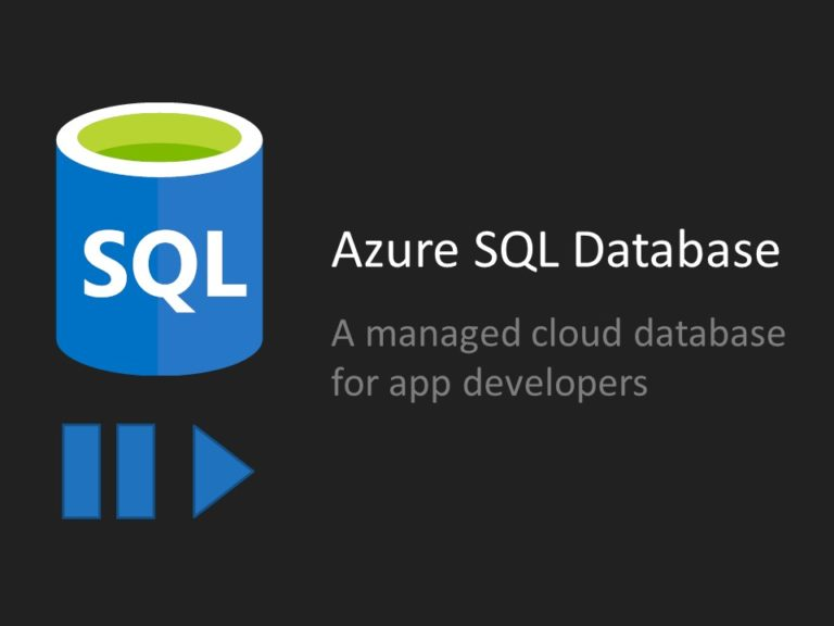 Azure SQL Database Pause Resume