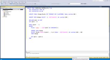 Azure SQL Database - Lasttest
