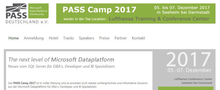 PASSCamp 2017 - Banner