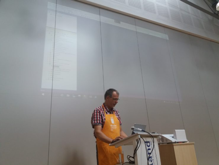 Volker Bachmann beim SQLGrillen 2018