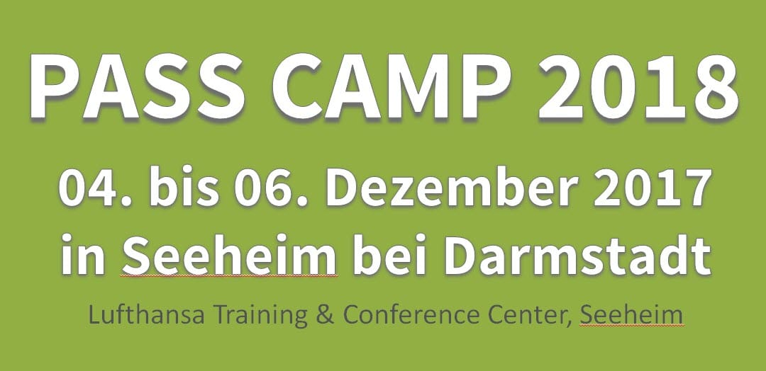 Pass Camp 2018 in Seeheim
