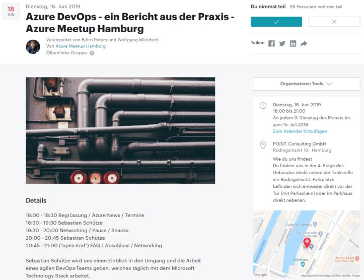 Azure Meetup Hamburg - Azure DevOps - ein Bericht aus der Praxis - Sebastian Schütze