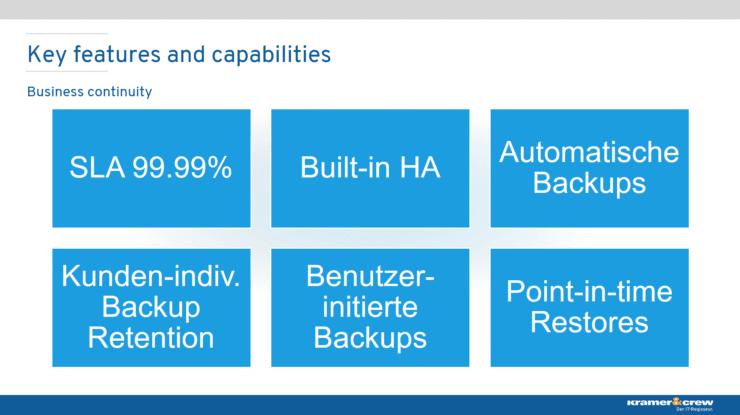 aMS Germany 2020 - Bjoern Peters - Einstieg in Azure SQL Managed Instance - Beispiele für Features und Capabilities - Business Continuity