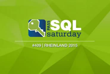 SQLPASS SQLSaturday #409 Rheinland